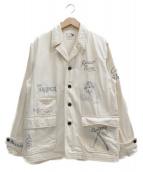 GANGSTERVILLE(ギャングスタビル)の古着「コバートテーラードジャケット」|アイボリー