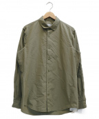 THE NORTH FACE()の古着「SOM MAXI TYPE SHIRT」|オリーブ