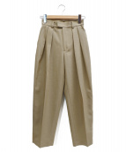 STUNNING LURE(スタニングルアー)の古着「Female Shape Pants」|ベージュ