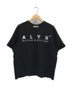 ALYX(アリクス)の古着「ロゴプリントカットソー」 ブラック