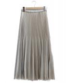 IENA(イエナ)の古着「アコーディオンプリーツスカート」|グレー