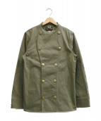 ORGUEIL(オルゲイユ)の古着「Military Cook Coat」|グリーン