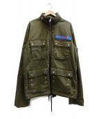 DIESEL(ディーゼル)の古着「ミリタリージャケット」|オリーブ