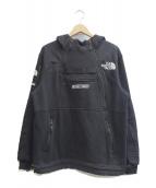 SUPREME × THE NORTH FACE(シュプリーム × ザ・ノースフェイス)の古着「Steep Tech Hooded Sweatshirt」|ブラック
