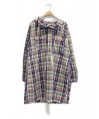 Engineered Garments(エンジニアードガーメン)の古着「チェックアノラックロングパーカー」|マルチカラー