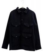 FILSON GARMENT(フィルソンガーメント)の古着「マッキーノクルーザーウールジャケット」|ブラック