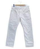 RRL(ダブルアールエル)の古着「スリムフィットジーンズ」|ホワイト