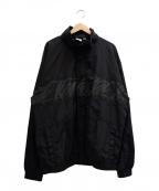UNDEFEATED(アンディフィーテッド)の古着「PANEL-PRINTED TRACK JACKET」|ブラック