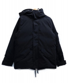 COOTIE PRODUCTIONS(クーティー プロダクツ)の古着「T/C Weather Cloth Down Jacket」|ブラック