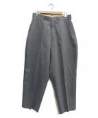 N.HOOLYWOOD(エヌハリウッド)の古着「Wide Slacks」|グレー