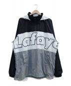 Lafayette(ラファイエット)の古着「アノラックパーカー」 ホワイト×ブラック