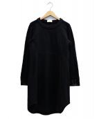 mame(マメ)の古着「カットソーワンピース」|ブラック