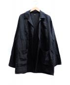 KAPTAIN SUNSHINE(キャプテン サンシャイン)の古着「Safari Light Jacket」|ブラック