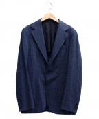 Errico Formicola(エリコフォルミコラ)の古着「テーラードジャケット」|ネイビー