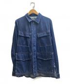 Brilla per il gusto(ブリッラ ペル イルグースト)の古着「ファティーグジャケット」|インディゴ