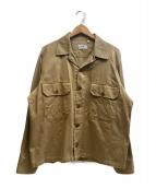 CAMO BY stefano ughetti(カモ)の古着「ミリタリージャケット」|ベージュ