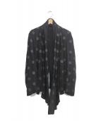 Ys(ワイズ)の古着「ドットジャケット」 ブラック