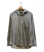 ORGUEIL(オルゲイユ)の古着「ストライプシャツ」|ブルー