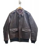 SOFT MACHINE(ソフトマシン)の古着「レザージャケット」|ブラウン