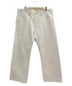 Trophy Clothing(トロフィークロージング)の古着「パンツ」|ホワイト