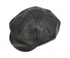 GANGSTERVILLE(ギャングスタビル)の古着「レザーキャスケット」|ブラック