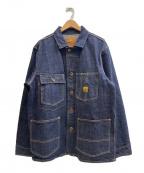 Trophy Clothing(トロフィークロージング)の古着「カバーオール」 インディゴ