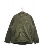 RVCA(ルーカ)の古着「中綿ジャケット」|グリーン