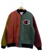 SUPREME×Champion(シュプリーム×チャンピオン)の古着「中綿ジャケット」|マルチカラー