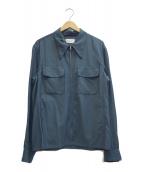 LEMAIRE(ルメール)の古着「ジップライトブルゾン」 ブルー
