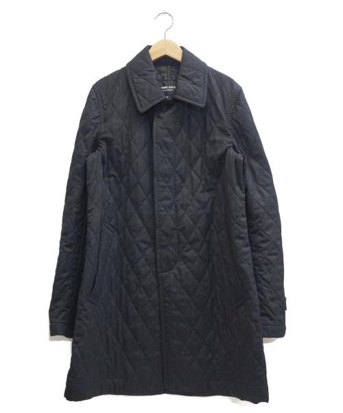 COMME des GARCONS HOMME DEUX(コムデギャルソン オム ドゥ)COMME des GARCONS HOMME DEUX (コムデギャルソン オム ドゥ) キルティングコート ブラック サイズ:表記サイズ:Mの古着・服飾アイテム