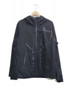 Descente ALLTERRAIN(デサントオルテライン)の古着「STREAMLINE ACTIVE SHELL JACKET」|ブラック
