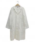 plantation()の古着「ショップコート」 ホワイト