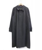 GRENFELL(グレンフェル)の古着「ウールステンカラーコート」|グレー
