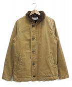 UES(ウエス)の古着「A-1デッキジャケット」|ブラウン