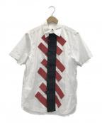 GANRYU(ガンリュウ)の古着「デザインシャツ」 ホワイト