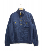 Black Fleece(ブラックフリース)の古着「ナイロンアノラックジャケット」|ネイビー
