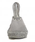 LUDLOW(ラドロー)の古着「巾着ハンドバッグ」 グレー