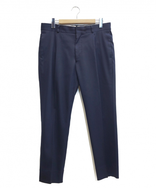 H BEAUTY&YOUTH(エイチ ビューティアンドユース)H BEAUTY&YOUTH (エイチ ビューティアンドユース) HIGH/FRM TWL 1P TAPERED PANTS ネイビー サイズ:表記サイズ:Lの古着・服飾アイテム