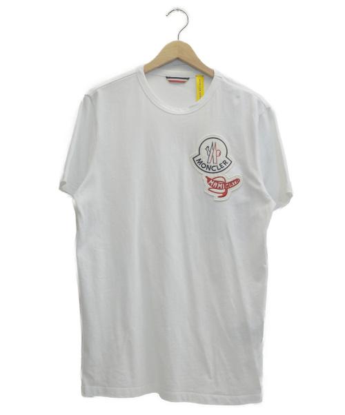 MONCLER Genius(モンクレールジーニアス)MONCLER Genius (モンクレールジーニアス) Mamiwata Logo T-Shirt ホワイト サイズ:表記サイズ:S  20SSの古着・服飾アイテム