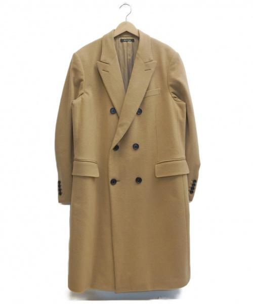 dunhill(ダンヒル)dunhill (ダンヒル) カシミヤ混コート ベージュ サイズ:52 175/86Aの古着・服飾アイテム