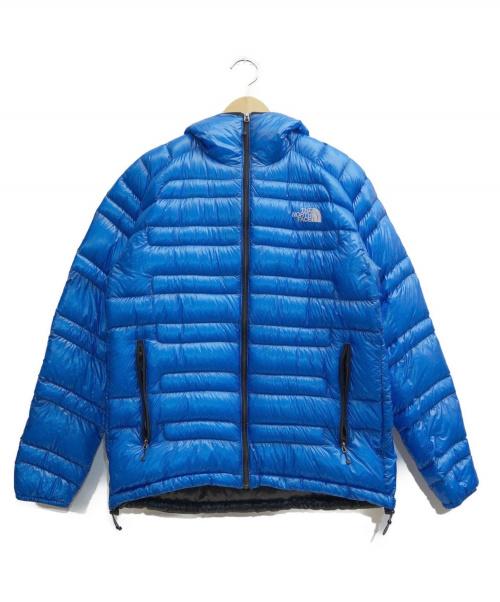 THE NORTH FACE(ザノースフェイス)THE NORTH FACE (ザノースフェイス) FLASH HOODIE ブルー サイズ:表記サイズ:Mの古着・服飾アイテム