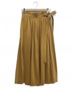 LEMAIRE(ルメール)の古着「ミディスカート」 ブラウン