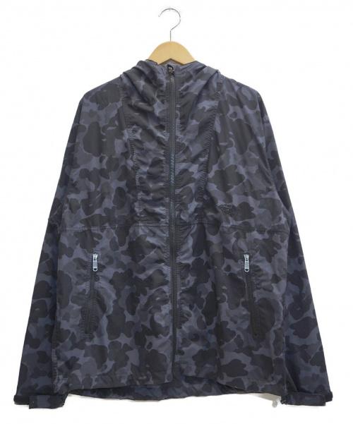 THE NORTH FACE(ザノースフェイス)THE NORTH FACE (ザノースフェイス) マウンテンパーカー ブラック×グレー サイズ:表記サイズ:Lの古着・服飾アイテム