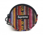 Supreme(シュプリーム)の古着「Woven Stripe Coin Pouch」|マルチカラー