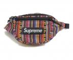 Supreme(シュプリーム)の古着「Woven Stripe Waist Bag」|マルチカラー
