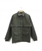 FILSON GARMENT(フィルソンガーメント)の古着「ウールジャケット」 オリーブ