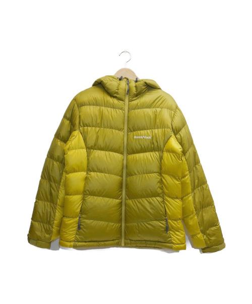 mont-bell(モンベル)mont-bell (モンベル) アルパインダウンジャケット イエロー サイズ:表記サイズ:Mの古着・服飾アイテム
