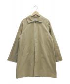 YAECA(ヤエカ)の古着「ショートステンカラーコート」|ベージュ