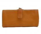 土屋鞄(ツチヤカバン)の古着「がま口財布」|ブラウン