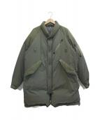 NANGA(ナンガ)の古着「別注PCU DOWN COAT」|オリーブ